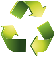 Aisacan™ fully recyclable symbol
